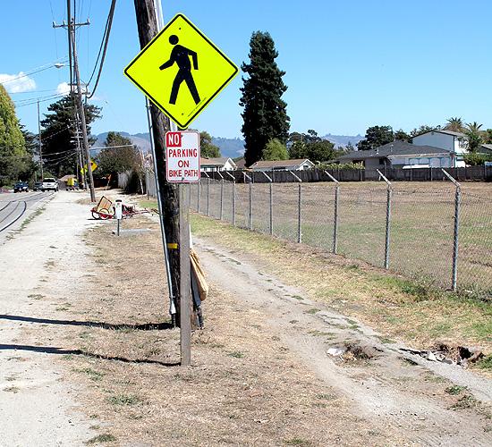 what bike path?