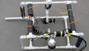 Waterproofing cameras for underwater ROVs | Gas station