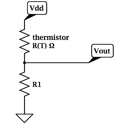 voltage_divider temperature lab, part 3 voltage divider gas station without pumps Thermistor Circuit Diagram at gsmx.co