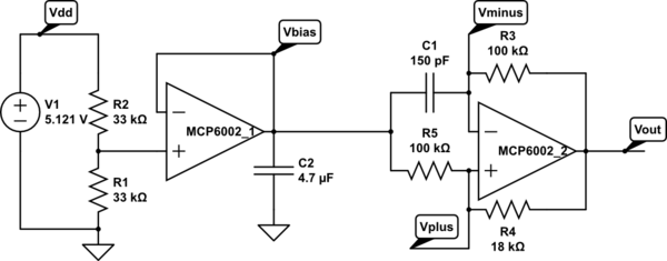 capacitive sensing with schmitt trigger