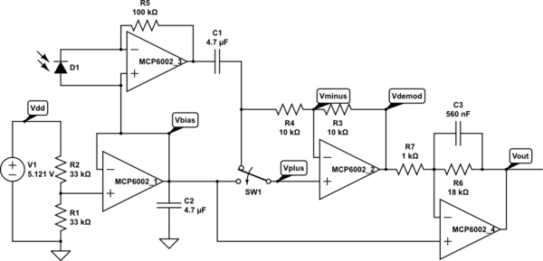 Synchronous Demodulator Gas Station Without Pumps