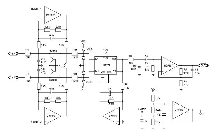 Integrator Circuit Simulation