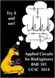 2014 Applied Circuits t-shirt has the design only on the front, and has the class slogan above the cyberslug.  (Click for high resolution image)