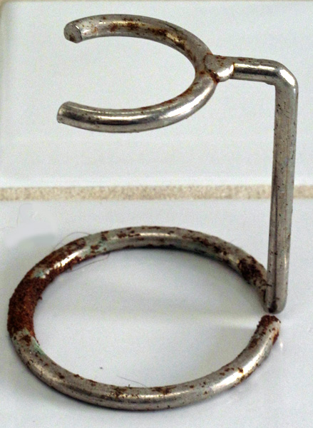 Chromed steel rusts