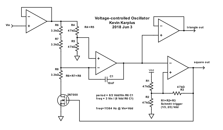 vco (voltage controlled oscillator) gas station without pumpsgas station without pumps