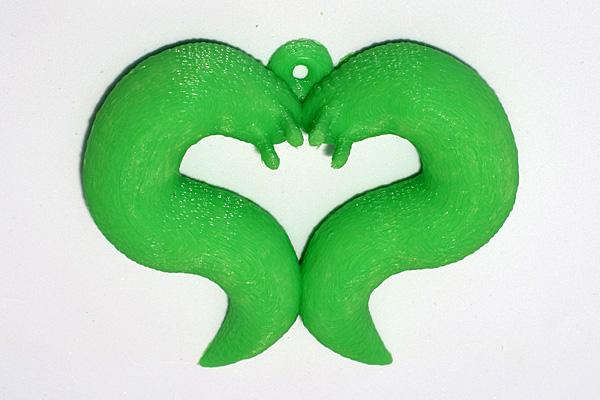 slug heart jewelry