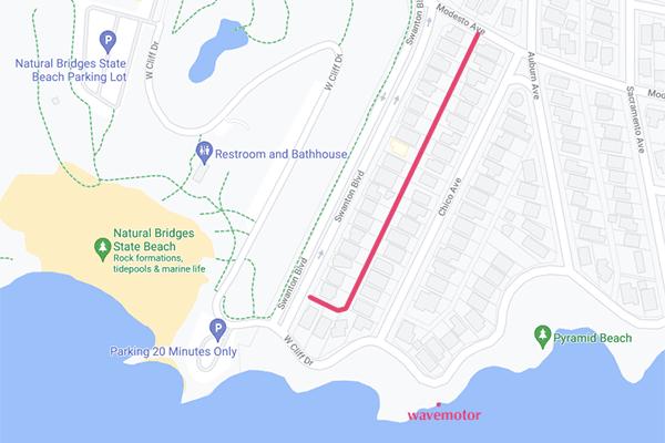 Modesto_Alley_map