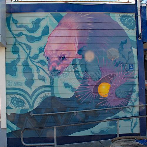 sea-otter-mural